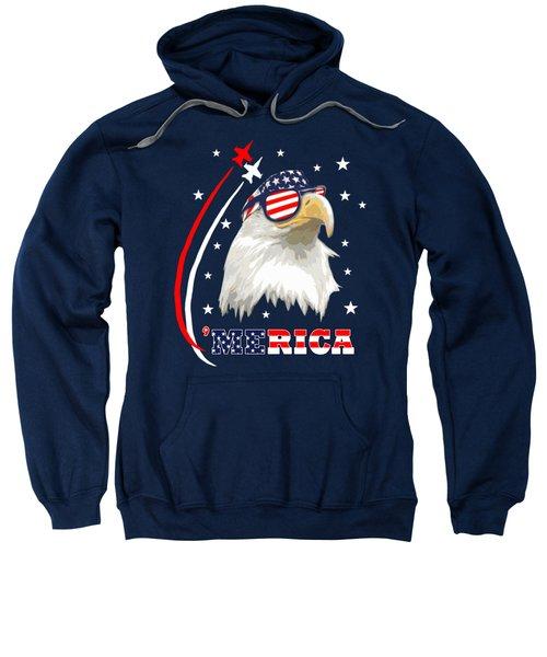Proud Bald Eagle Sweatshirt