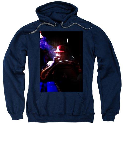 Purple Haze Boss  Sweatshirt