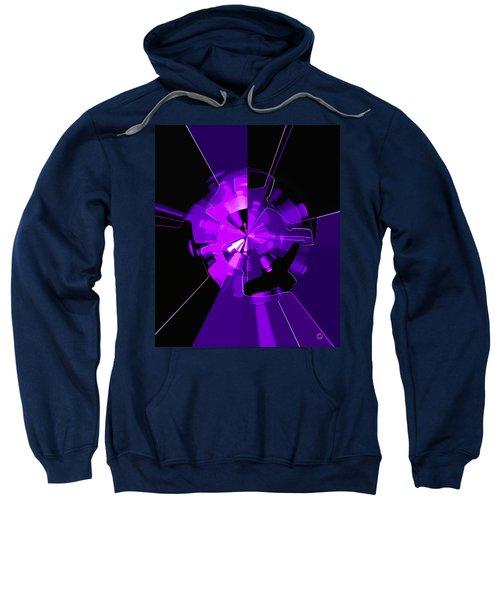 Purple Haze Wheels Sweatshirt