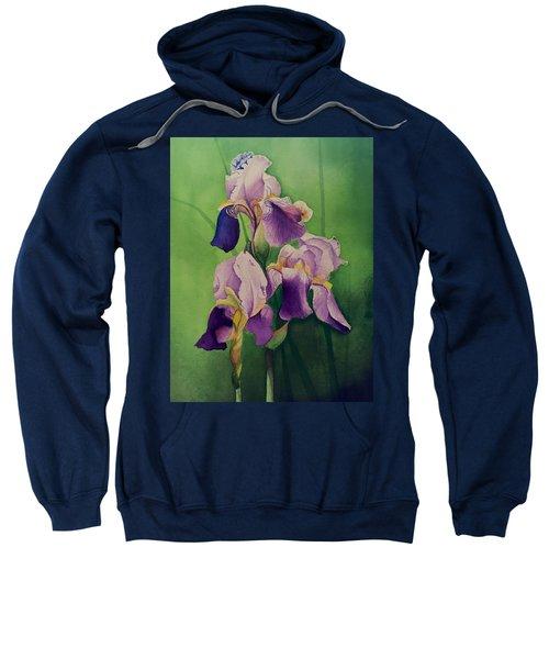 Purple Iris' Sweatshirt