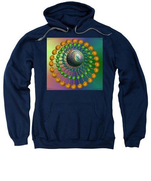 Rainbow Fractal Sweatshirt