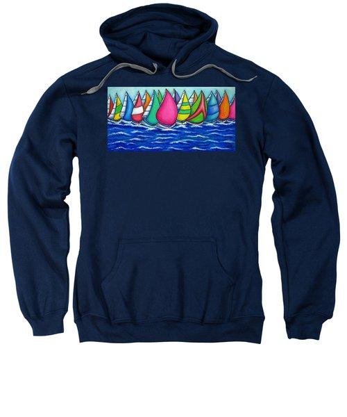 Rainbow Regatta Sweatshirt