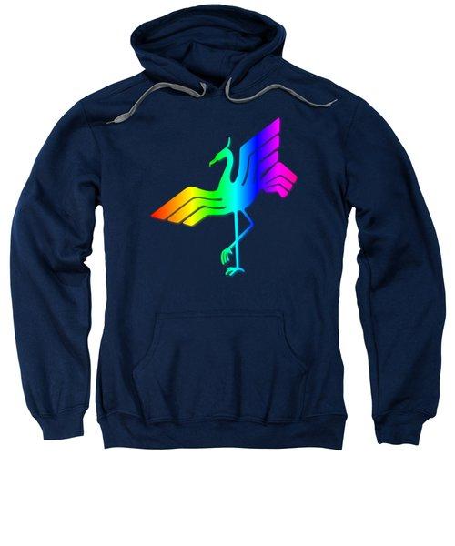 Rainbow Stork Sweatshirt