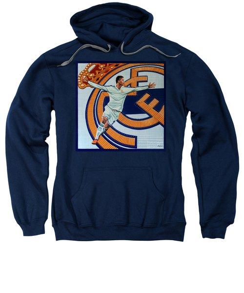 Real Madrid Painting Sweatshirt by Paul Meijering
