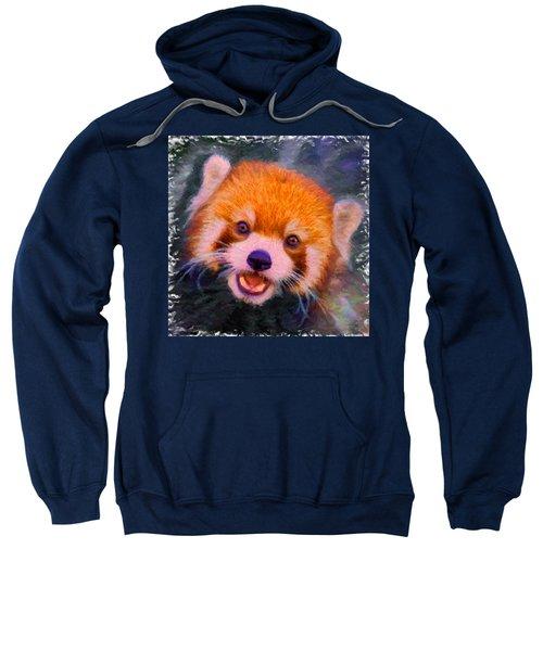 Red Panda Cub Sweatshirt