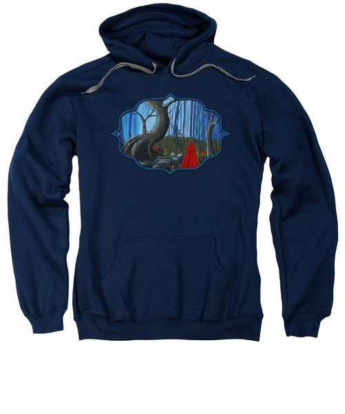 Red Riding Hood In The Forest Sweatshirt