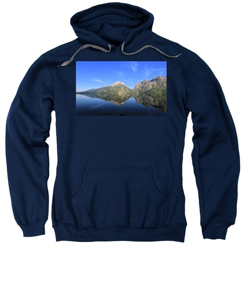 Reflection At Grand Teton National Park Sweatshirt