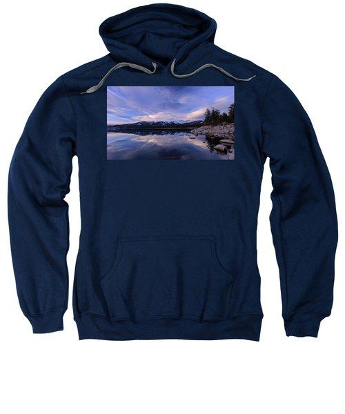 Reflection In Winter Sweatshirt