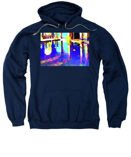 Reflective Pool Hearst Castle Sweatshirt