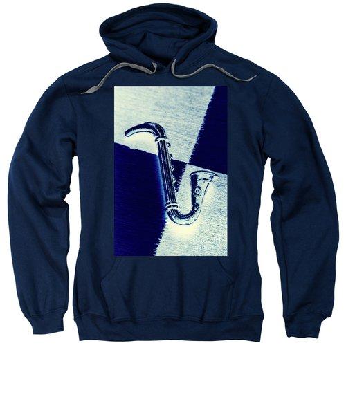 Retro Blues Sweatshirt