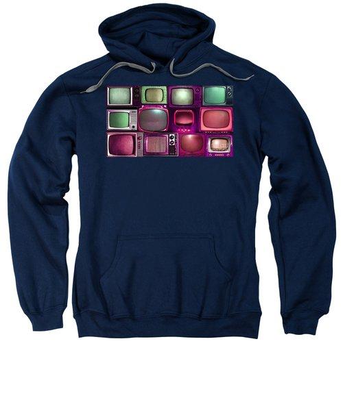 Retro Television Marathon 20150928long V2 M68 Sweatshirt