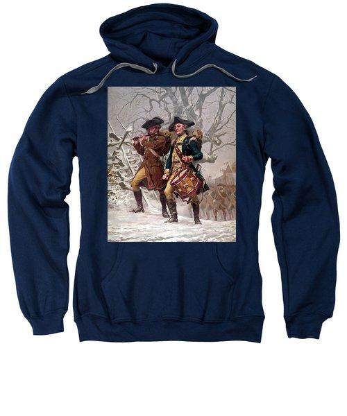 Revolutionary War Soldiers Marching Sweatshirt