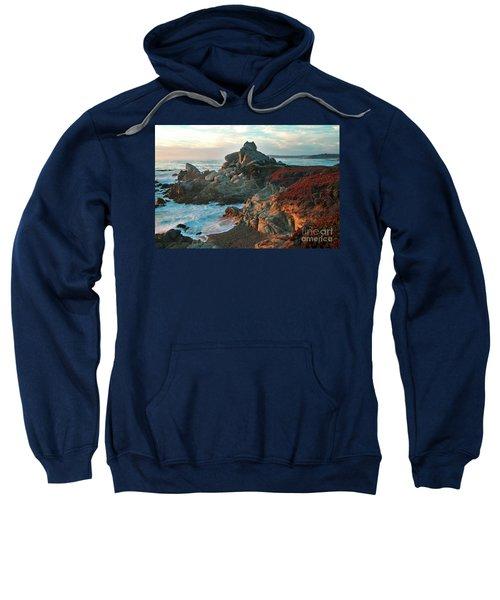 Ribera Beach Sunset Carmel California Sweatshirt