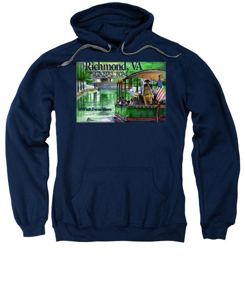 Richmond Va Canal Boat Sweatshirt