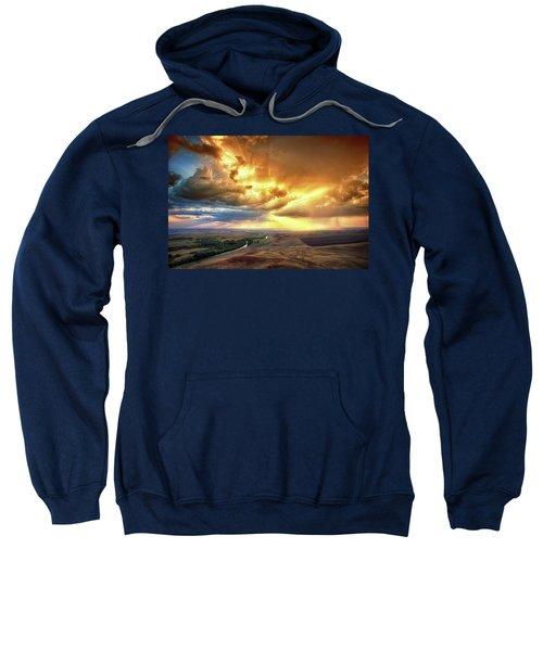 Rolling Rain Of Summer Sunset Sweatshirt