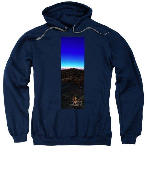 Saddle Road Humuula Lava Field Big Island Hawaii  Sweatshirt