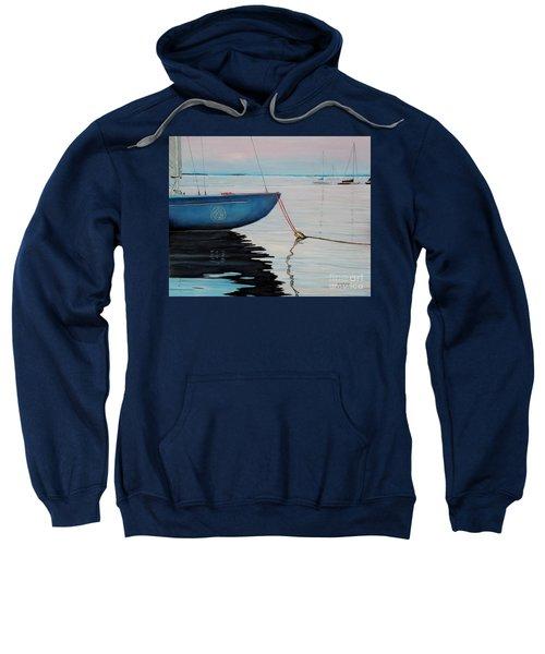 Sailboat Tied Sweatshirt