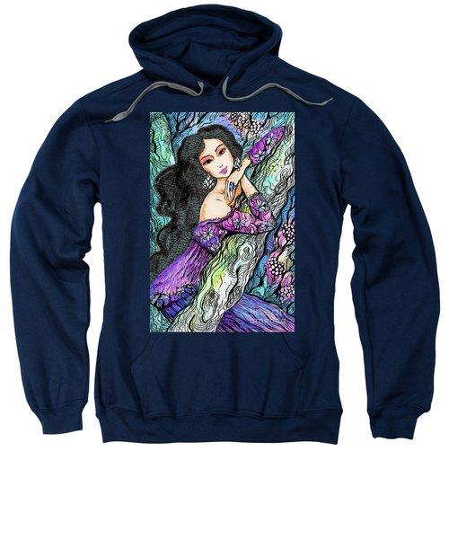 Sapphire Forest Sweatshirt