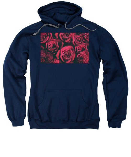 Scarlet Roses Sweatshirt