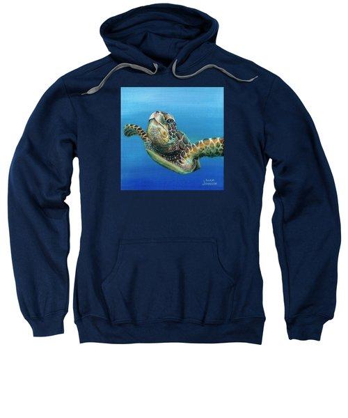 Sea Turtle 3 Of 3 Sweatshirt