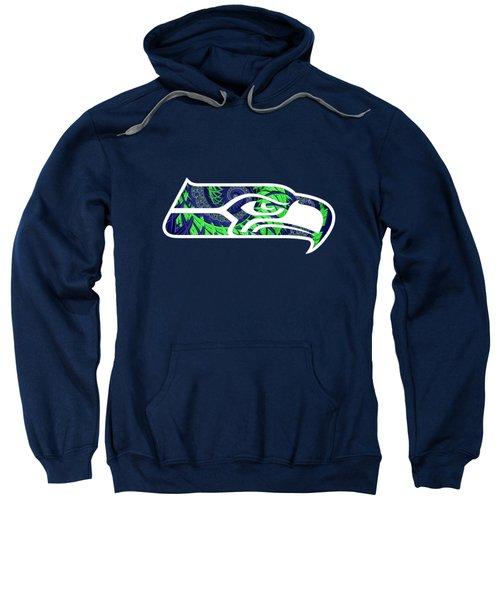 Seahawks Fractal Sweatshirt
