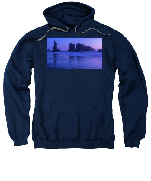 Seastack Sunset In Bandon Sweatshirt