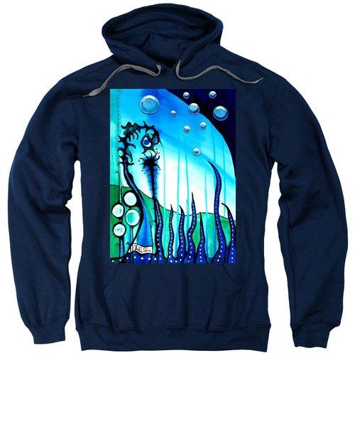 Seaweed - Art By Dora Hathazi Mendes Sweatshirt by Dora Hathazi Mendes