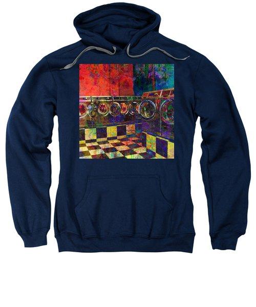 Secret Life Of Laundromats Sweatshirt