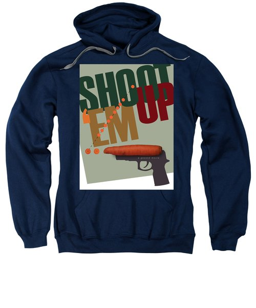 Shoot 'em Up Movie Poster Sweatshirt