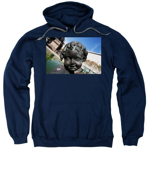 Smiling Cherub Sweatshirt