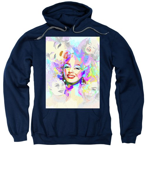 Smiling Marilyn  Sweatshirt