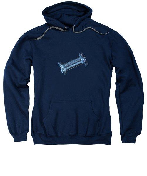 Snowflake Photo - Capped Column Sweatshirt
