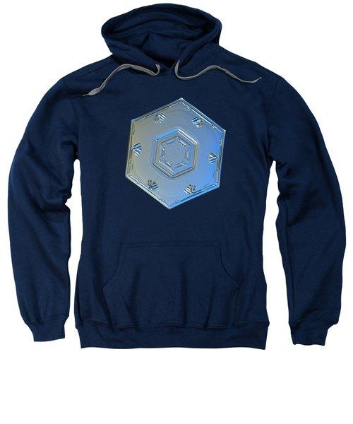 Snowflake Photo - Cryogenia Sweatshirt