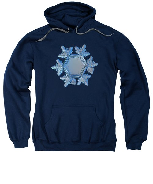 Snowflake Photo - Sunflower Sweatshirt