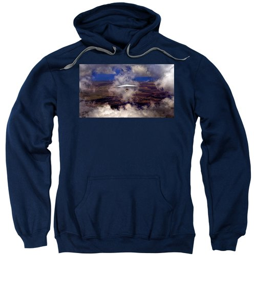 Soaring Through The Clouds Sweatshirt