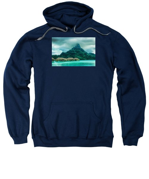Solitude In Bora Bora Sweatshirt