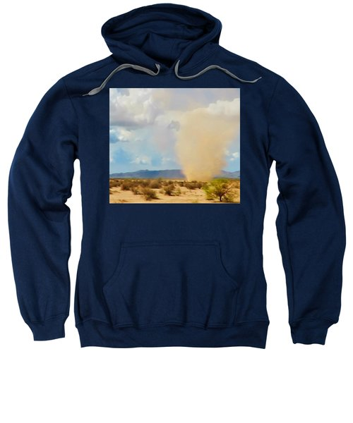 Sonoran Desert Dust Devil Sweatshirt