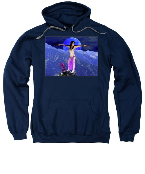 Sorceress And Her Familar Sweatshirt