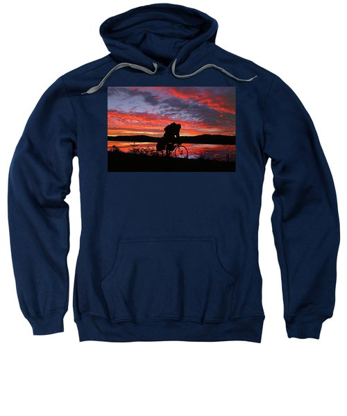 Spinning The Wheels Of Fortune Sweatshirt