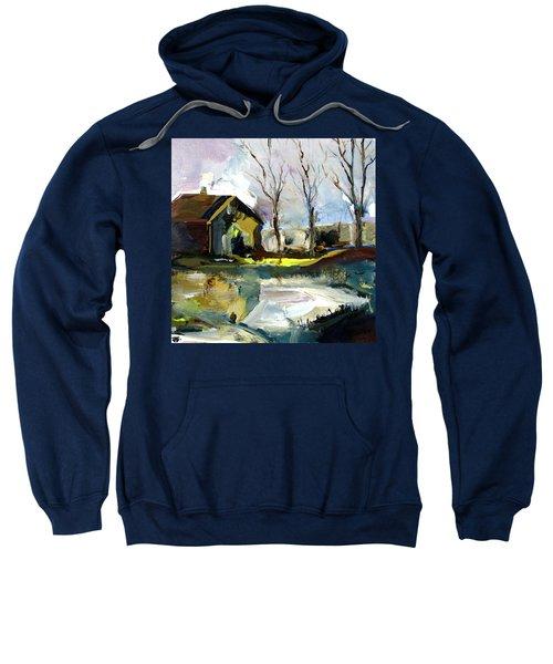 Springtime Barn Sweatshirt