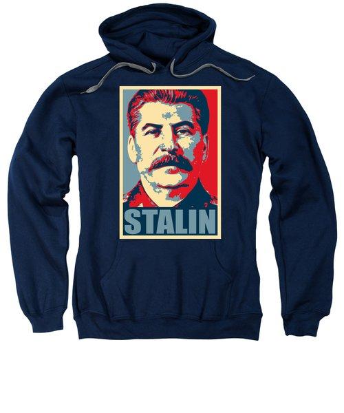 Stalin Propaganda Poster Pop Art Sweatshirt