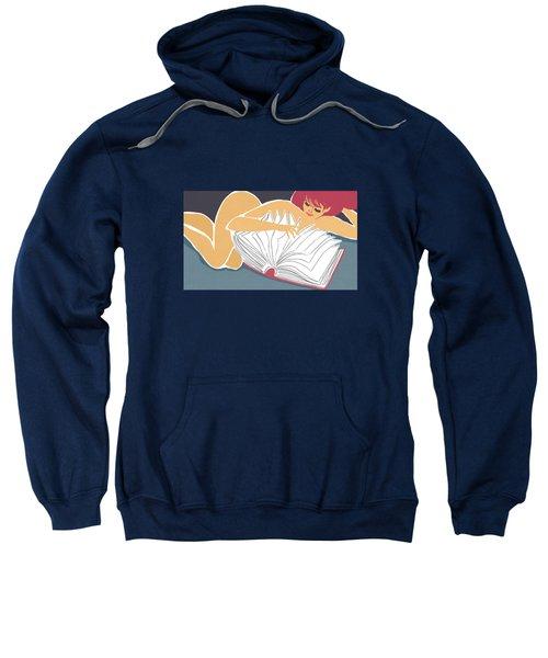 Stay Up Late Reading Sweatshirt