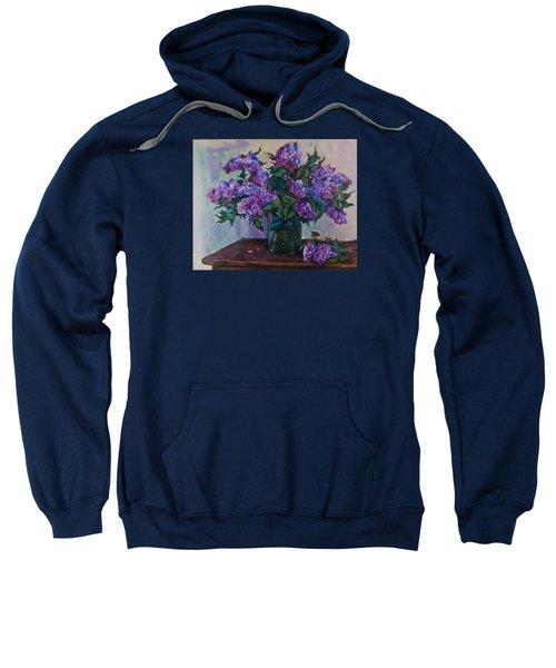 Still Life With Lilac  Sweatshirt