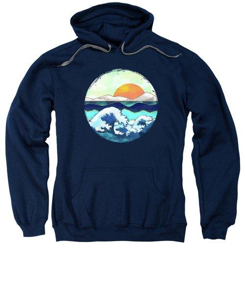 Stormy Waters Sweatshirt by Spacefrog Designs
