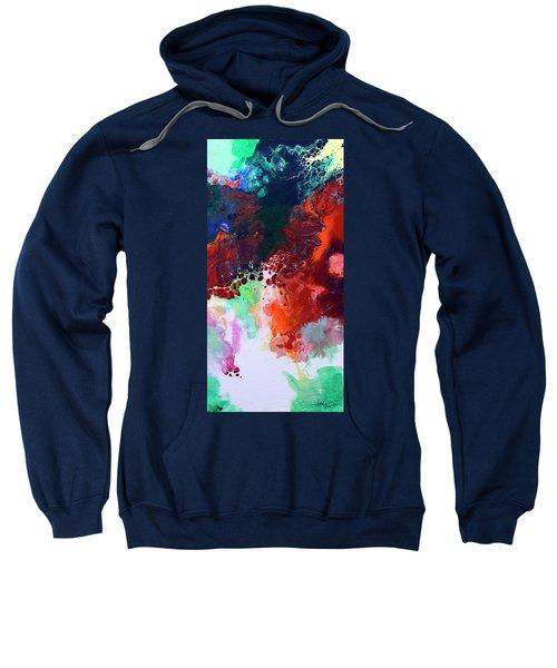 Subtle Vibrations, Canvas Five Of Five Sweatshirt