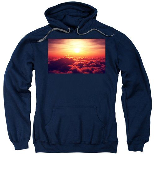 Sunrise Above The Clouds Sweatshirt