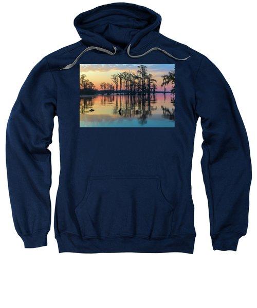 Sunrise, Bald Cypress Of Nc  Sweatshirt