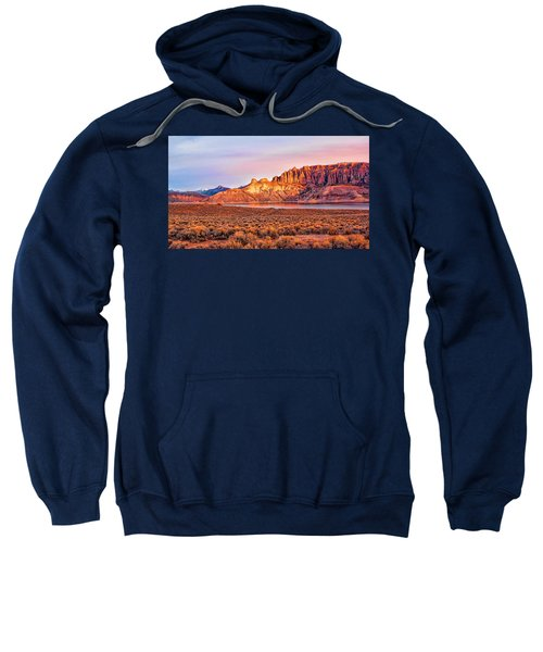 Sunrise On Dillon Pinnacles Sweatshirt