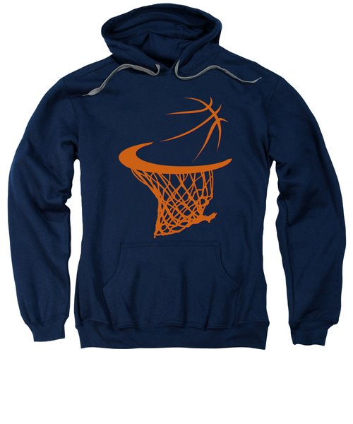 Suns Basketball Hoop Sweatshirt by Joe Hamilton