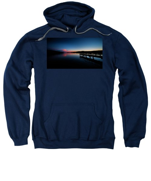 Sunset At The Pier Sweatshirt